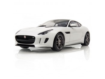F-Type coupe model 1:18 - wit