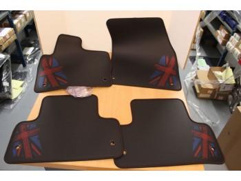 Evoque rubber matten - Union jack style.