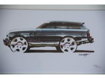 Zeefdruk van de Range Rover Sport - Limited Edition