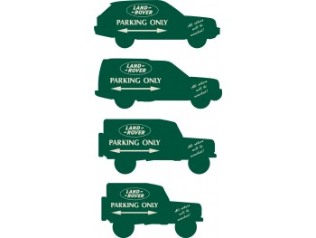 Land Rover - Parking Plate