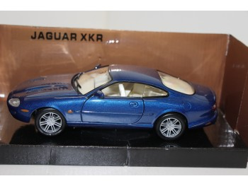 Motormax Jaguar XKR Blauw 1:24