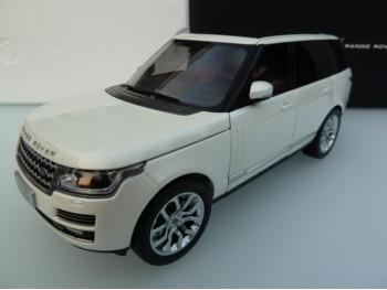 Welly GTA Range Rover Voque 1:18 Wit