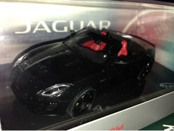 Jaguar F-TYPE (Zwart - 1:43)