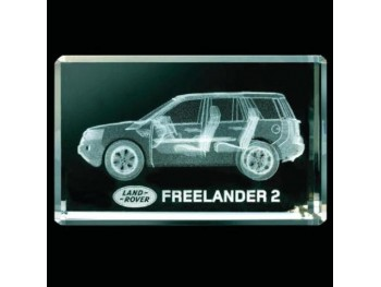 Freelander 2 Crystal Glass Block