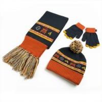 Muts,sjaal en handschoenen set voor kinderen
